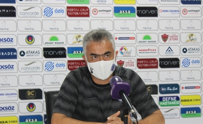 """Mehmet Altıparmak: """"İyi oynadığımız bir karşılaşmayı kaybettik"""""""