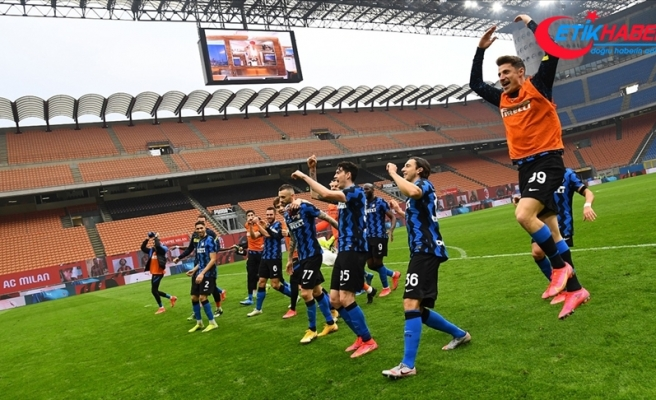 Milano derbisinde Inter güldü