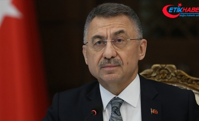 Cumhurbaşkanı Yardımcısı Oktay 'kahrolsun PKK' etiketiyle paylaşımda bulundu