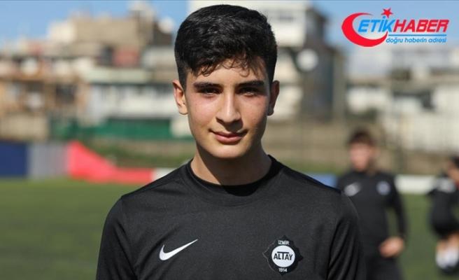 Şehit Fethi Sekin'in futbolcu oğlunun gönlünde Galatasaray var