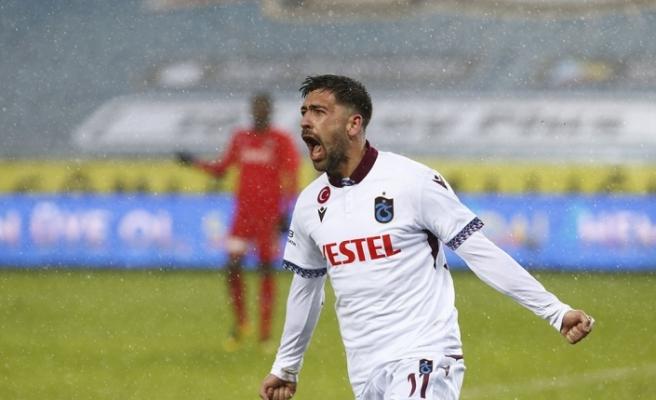 Süper Lig: Trabzonspor: 1 - Gaziantep FK: 0 (Maç sonucu)