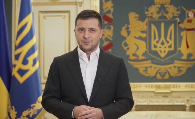 """Ukrayna Devlet Başkanı Zelenskiy: """"NATO Donbas'taki savaşı bitirmek için tek yol"""""""