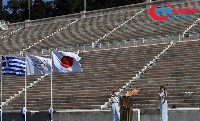 2020 Tokyo Olimpiyatları'nın Japonya'daki meşale turu Fukuşima'da başladı