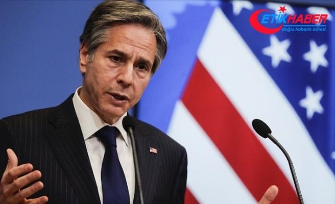 ABD Dışişleri Bakanı Blinken: Myanmar güvenlik güçlerinin döktüğü kandan dehşete düştük