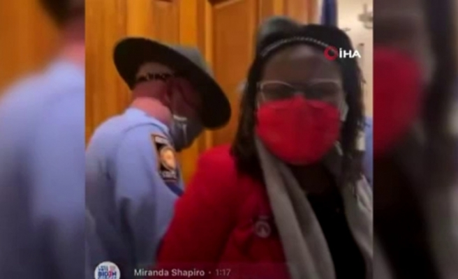 ABD'de Georgia Valisi Kemp'in kapısını çalan milletvekiline ters kelepçe