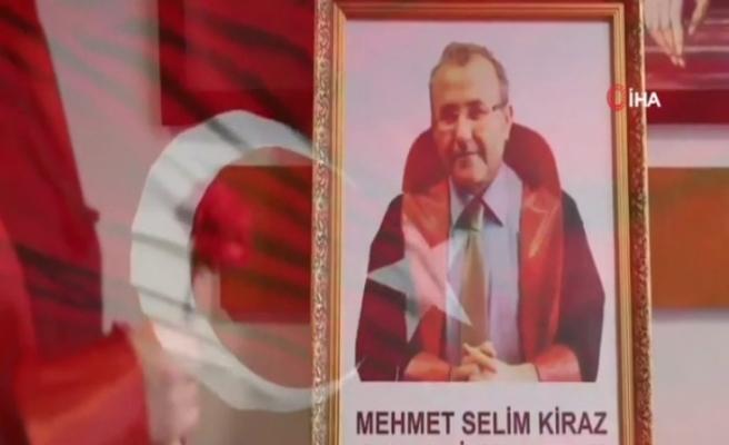 Adalet Bakanı Gül, Şehit Cumhuriyet Savcısı Mehmet Selim Kiraz'ı andı