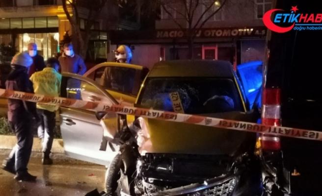 Ataşehir'de alkollü sürücü dehşeti: 3 yaralı