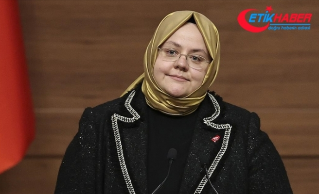 Bakan Zehra Zümrüt Selçuk kadın istihdamına katılım ve kadınlarla ilgili projelere verilen destekleri açıkladı