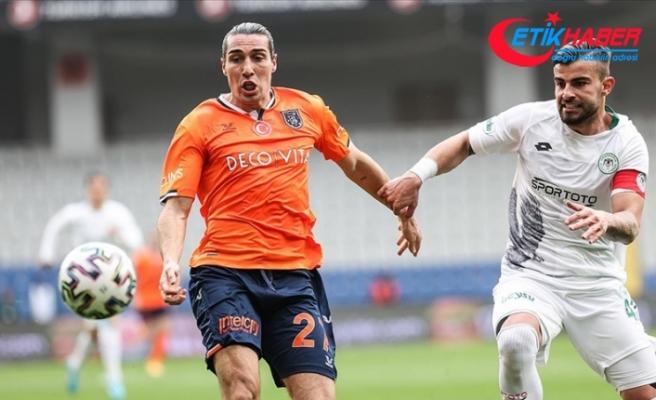 Başakşehir sahasında Konyaspor ile beraberliğe razı oldu
