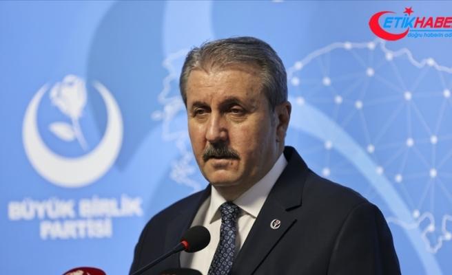 BBP Genel Başkanı Destici: İnsan Hakları Eylem Planı için herkesin üzerine düşen sorumluluğu yerine getirmesi lazım