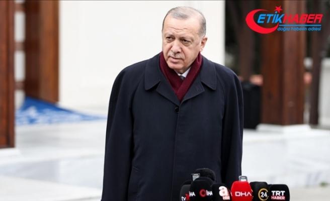 Cumhurbaşkanı Erdoğan: (Aşılama çalışmaları) Temenni ederiz ki mayıs, haziran gibi bu iş tamamlansın