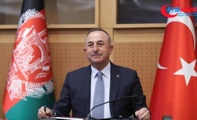 Dışişleri Bakanı Çavuşoğlu: Afganistanlı kardeşlerimiz istediği sürece bu ülkede kalmaya devam edeceğiz
