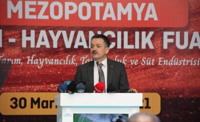 """""""Diyarbakırlı çiftçilerimize son 19 yılda 23,3 milyar lira tarımsal destek verdik ve yatırım yaptık"""""""