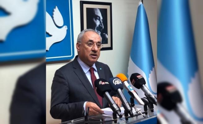 """DSP Genel Başkanı Aksakal'dan """"İnsan Hakları Eylem Planı"""" değerlendirmesi:"""