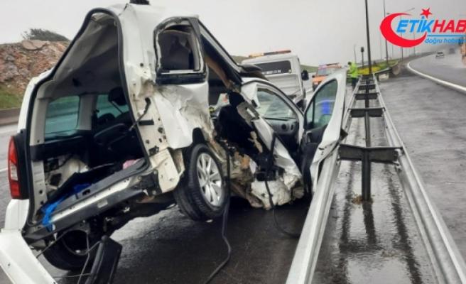 Düğün dönüşü kaza: 2 ölü!