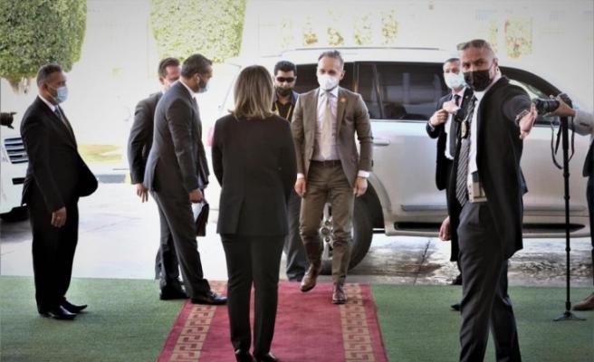 Fransa, Almanya ve İtalya'nın Dışişleri Bakanları, Libya hükümeti ile görüştü