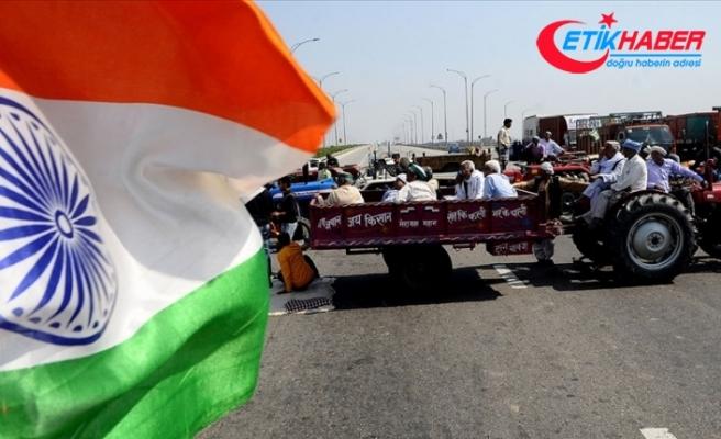 Hint çiftçiler tarım yasalarına karşı ülke çapında ikinci kez greve gitti