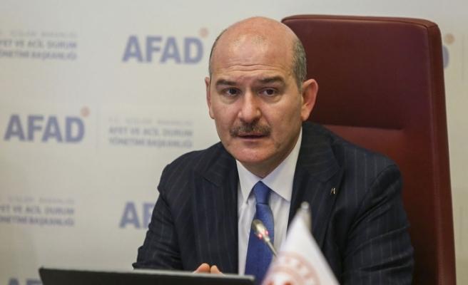 """İçişleri Bakanı Süleyman Soylu'dan """"Afet bilgisi eşittir hayat bilgisi"""" paylaşımı"""