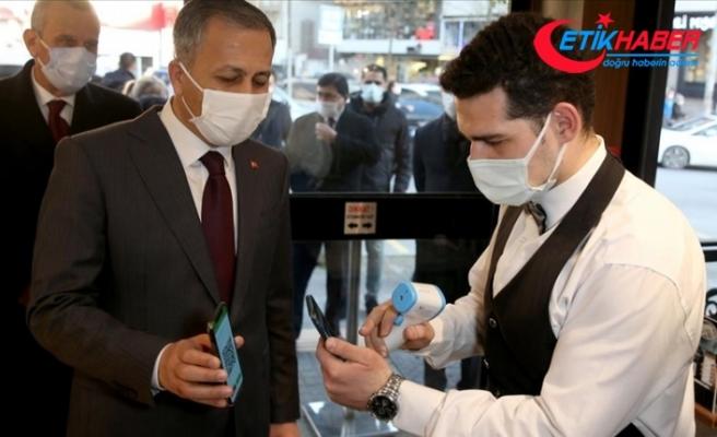 İstanbul'da koronavirüs salgınıyla mücadele kapsamında 3 günde 281 bin 677 denetim gerçekleştirildi