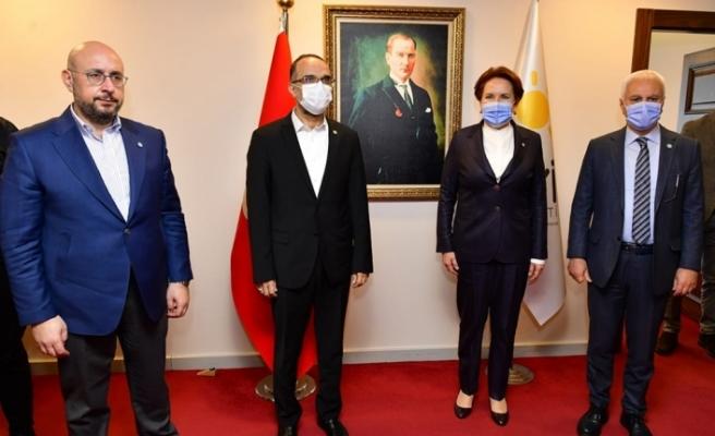 Meral Akşener, Yunan Büyükelçi Diamessis'i ağırladı