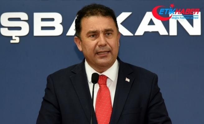 KKTC Başbakanı Saner: AB'nin Kıbrıs Türkü'ne haksızlıklarını sürdürmesi çözüme katkı sağlamayacak