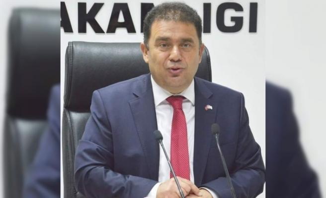 """KKTC Başbakanı Saner: """"Rum-Yunan ikilisi hayal aleminde"""""""