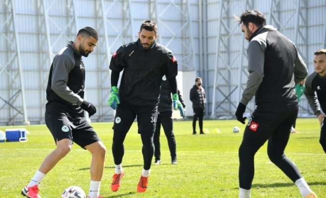 Konyaspor, M. Başakşehir maçı hazırlıklarını tamamladı