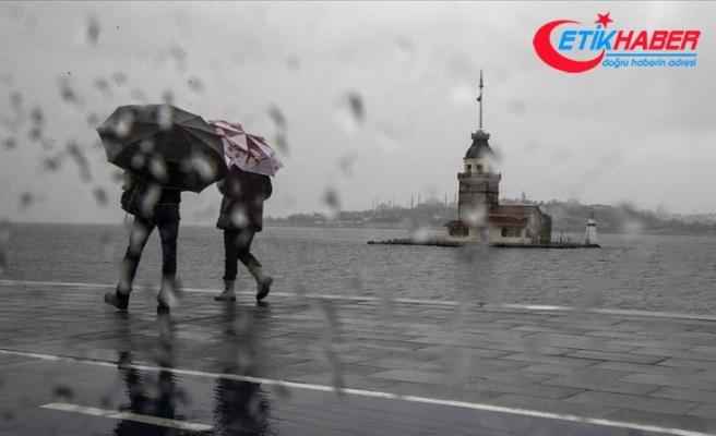 Marmara'nın genelinde aralıklı yağmur bekleniyor