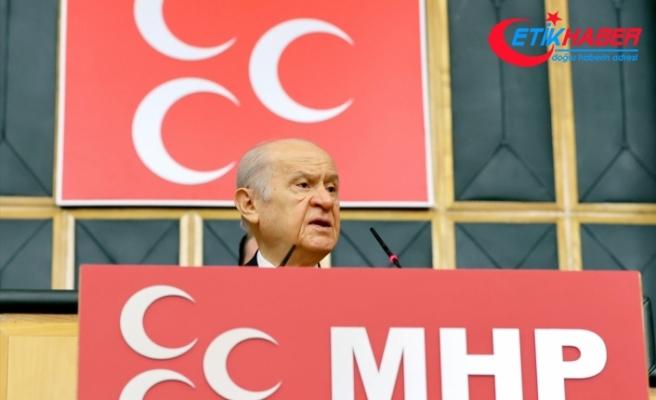 MHP Lideri Bahçeli: Biz PKK eşittir HDP diyorduk, meğer kanlı denkleme CHP de bodoslama girmiştir
