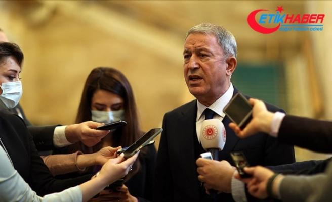 Milli Savunma Bakanı Akar: 1 Mart'tan bugüne Suriye ve Irak'ın kuzeyinde 200'den fazla terörist etkisiz hale getirildi