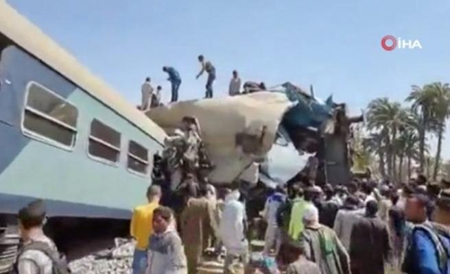 Mısır'da feci tren kazası: 32 ölü