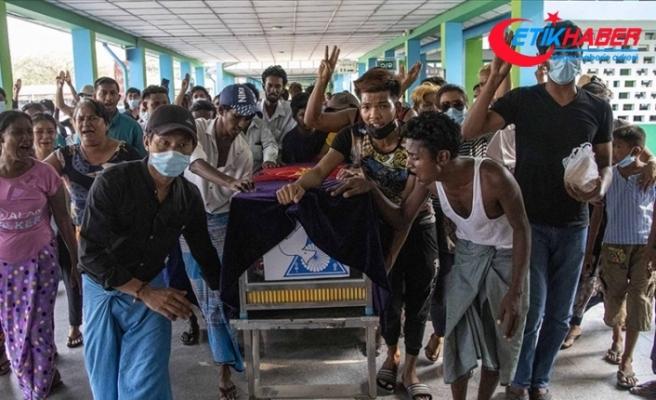 Myanmar'da güvenlik güçlerinin silahlı şiddeti sonucu ölenlerin sayısı 510'a yükseldi