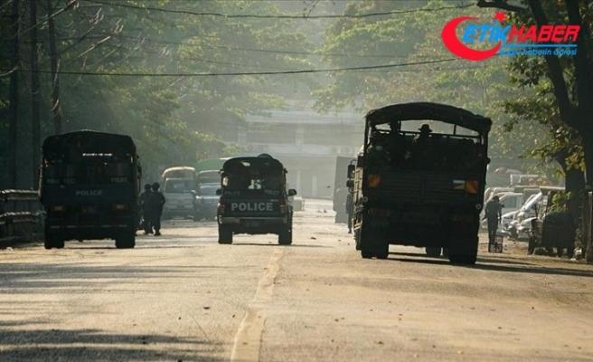 Myanmar ordusu Karen eyaletinde sivillerin bulunduğu bölgelere hava saldırıları düzenledi