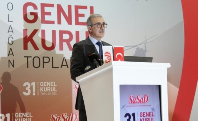 """Savunma Sanayii Başkanı Demir: """"Son 5 yılda ihracatımız yüzde 30 artarken ithalat yüzde 60 azaldı"""""""
