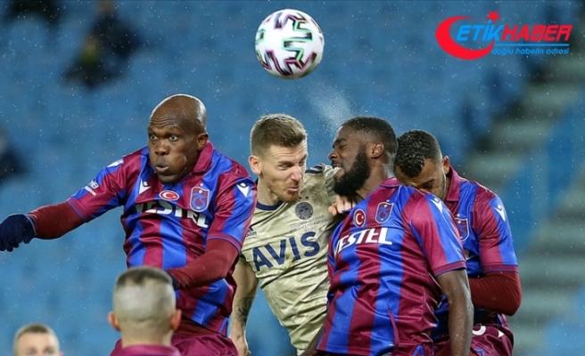 Trabzonspor 2021 yılındaki ilk yenilgisini aldı