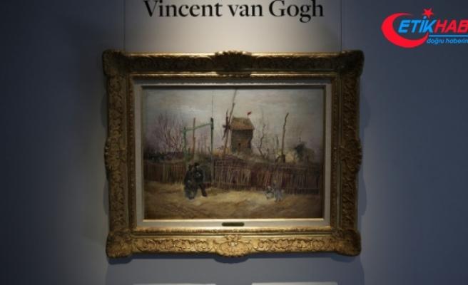 Van Gogh'un 'Montmartre'deki Sokak Manzarası' adlı eseri 13 milyon 91 bin euroya alıcı buldu