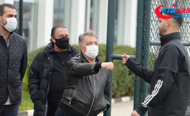 Ahmet Nur Çebi, Beşiktaş antrenmanını takip etti