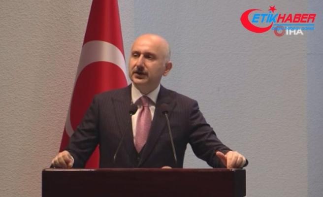 """Bakan Karaismailoğlu: """"Kanal İstanbul'un proje çalışmaları, imar planları tamamlanmıştır"""""""