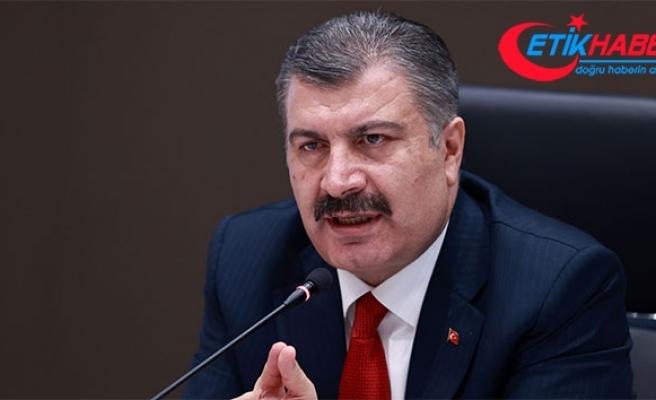 Sağlık Bakanı Koca: Kovid-19 vaka sayısı artış hızı azaldı