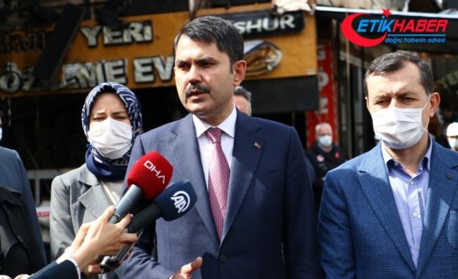 """Bakan Kurum: """"Kanal İstanbul Türkiye'nin gücüne güç katacak"""""""