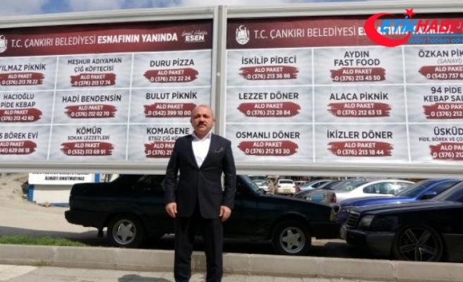 Çankırı Belediyesinden yerel esnafa destek