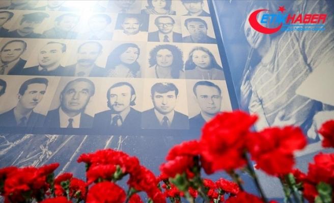 Cumhurbaşkanlığı İletişim Başkanlığınca düzenlenen 'Şehit Diplomatlar Sergisi' açıldı