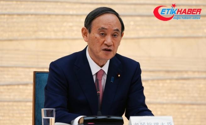 Japonya Başbakanı Suga'dan İngiliz mevkidaşı Johnson'a başsağlığı mesajı