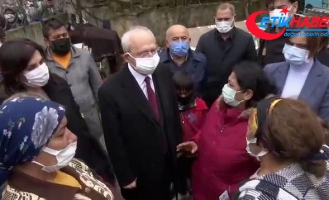 """Kılıçdaroğlu'na """"İBB yardımlarda bizi ayırıyor"""" sitemi"""