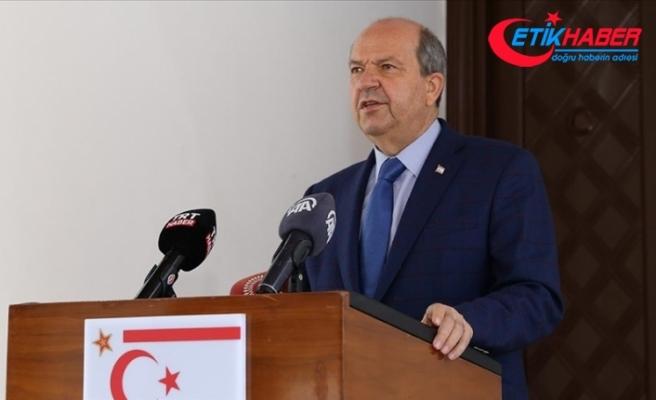 KKTC Cumhurbaşkanı Tatar: Bizim istediğimiz, Kıbrıs Türk halkının kendi varlığını eşitlik temelinde sürdürebilmesi