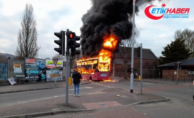 Kuzey İrlanda'da protestolar şiddet olaylarına dönüştü