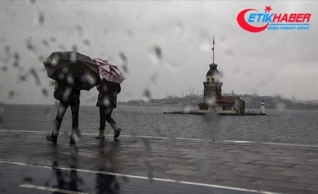 Meteorolojiden İstanbul ve çevresi için yağış uyarısı