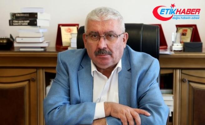 "MHP'li Yalçın: Yahu Ahmet Efendi; Beyaz Saray'a başvursaydın daha ""şık"" olurdu"