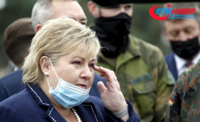 Norveç Başbakanı Solberg'e Covid-19 kurallarını ihlalden 20 bin kron para cezası
