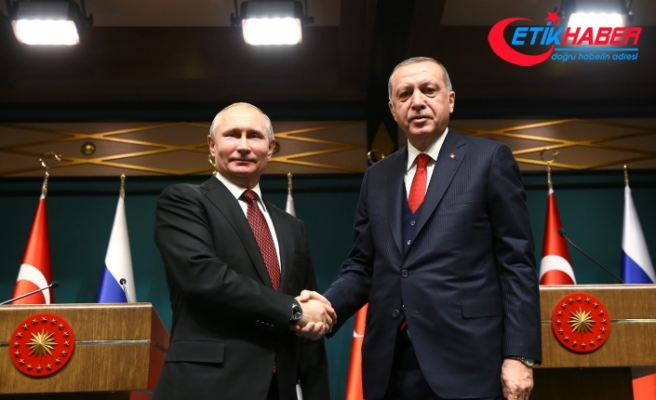 Putin ve Erdoğan, Donbass'ı görüştü